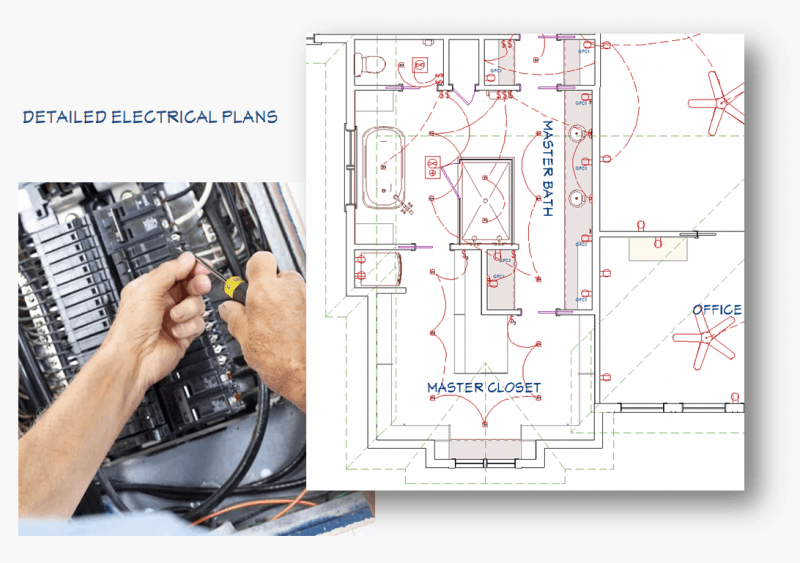 design electrical plan for your home at landen design house electrical plan sample electrical plan design #12